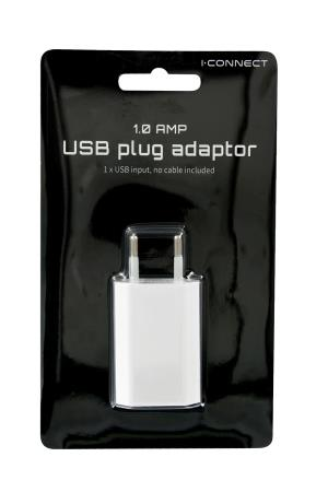 USB ADAPTER WITH EU PLUG