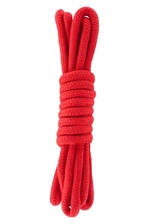 BONDAGE ROPE 3 METER RED