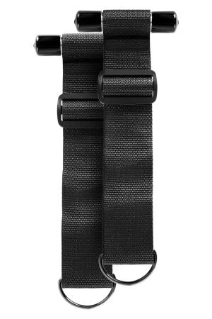 SINFUL DOOR RESTRAINT STRAPS BLACK