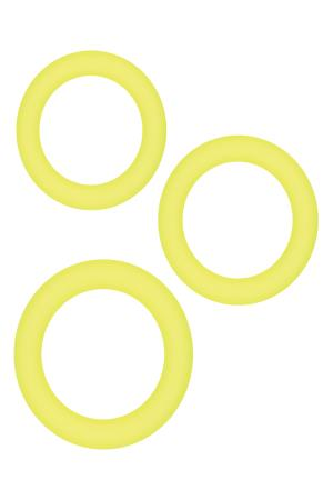 DIVERSITY RINGS NEON YELLOW