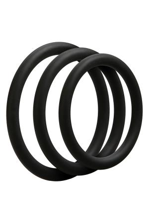 OPTIMALE 3 C-RING SET THIN BLACK