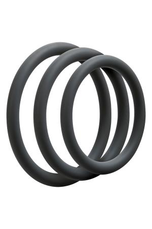 OPTIMALE 3 C-RING SET THIN SLATE