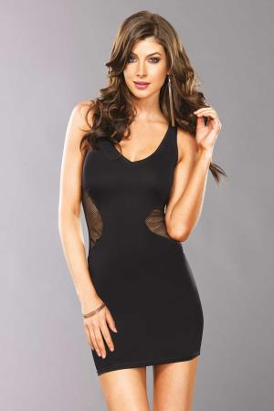 MINI DRESS LAURA BLACK M